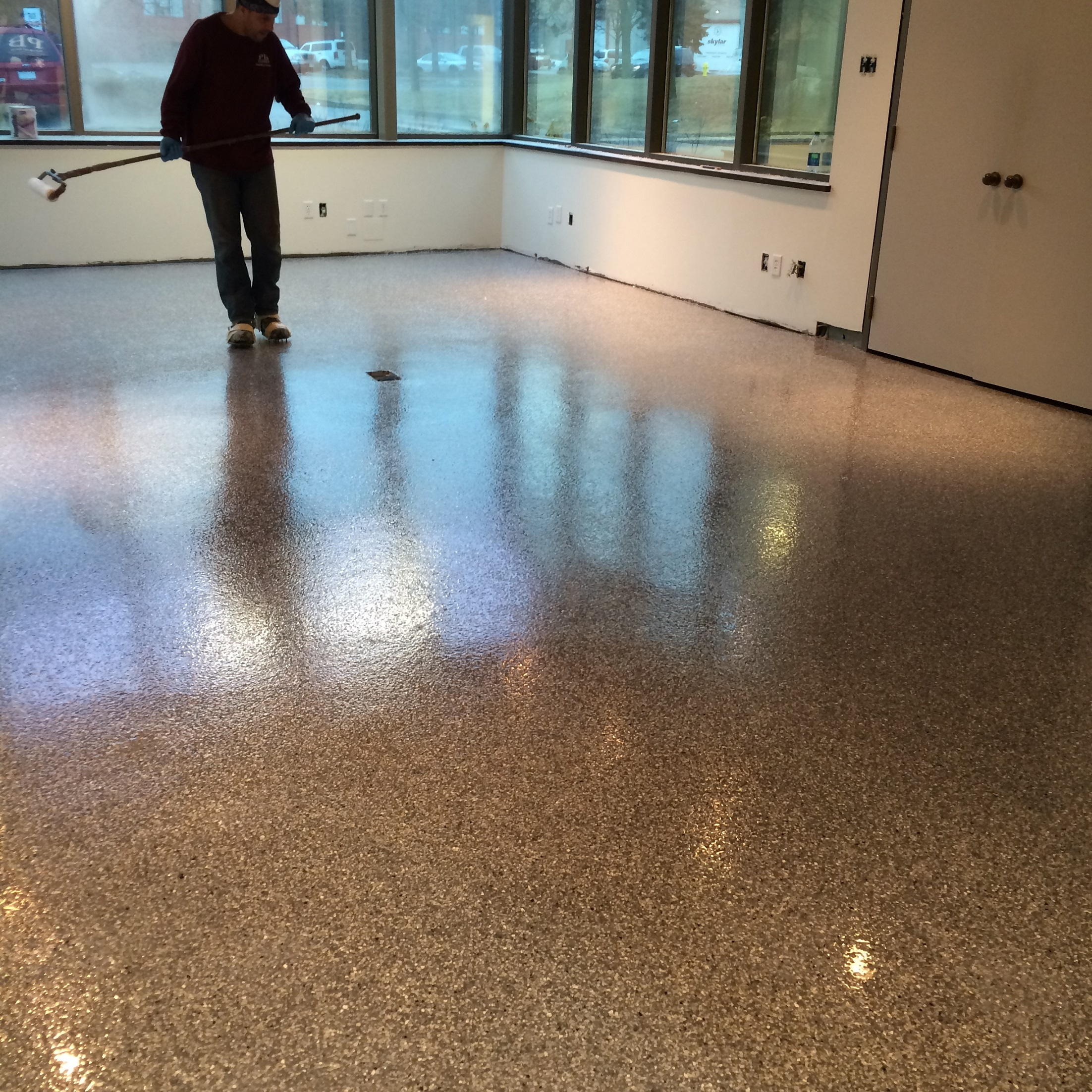 Epoxy Office Floor