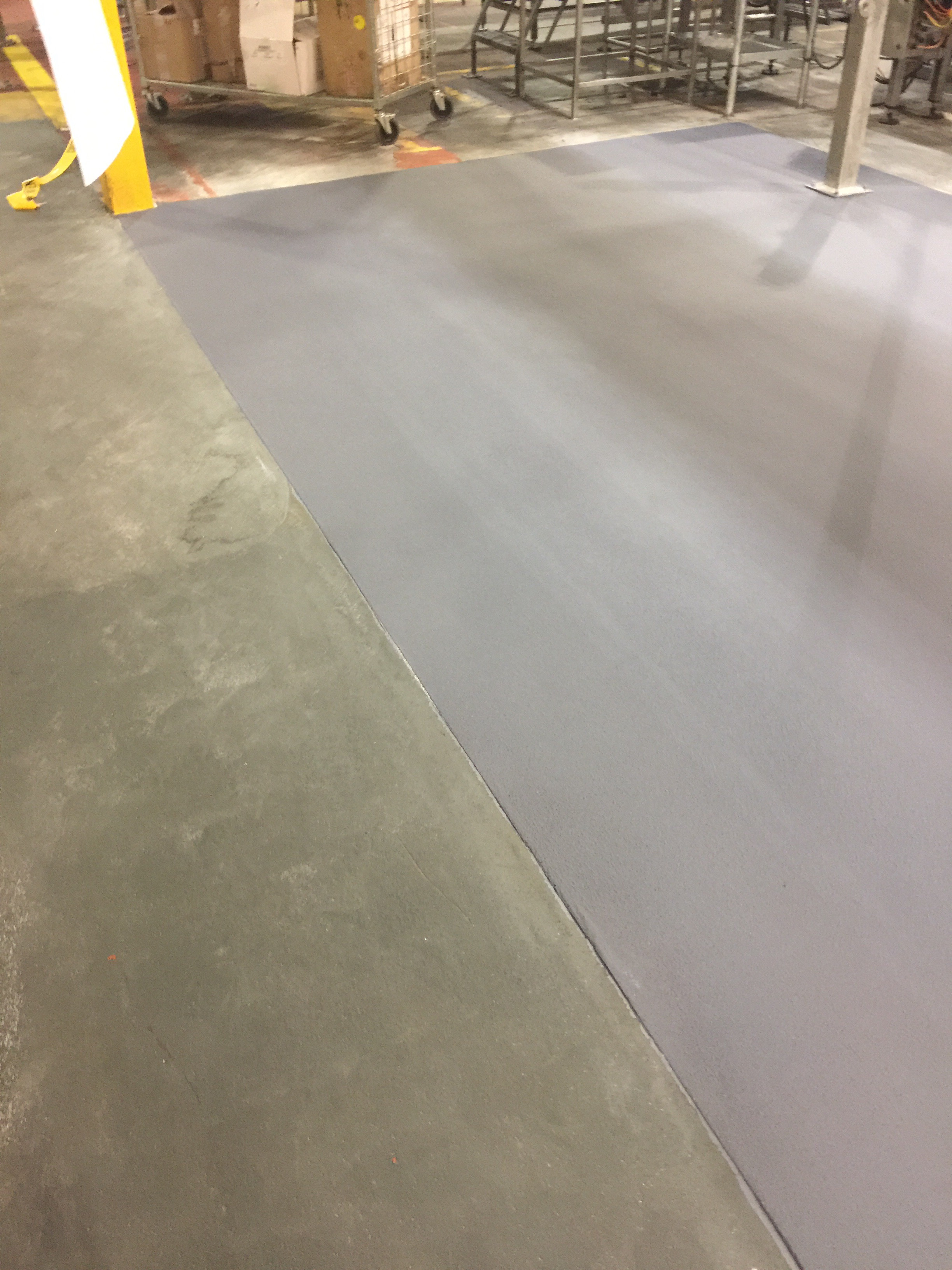 Heavy Duty Epoxy Flooring : Heavy duty bakery resin floor toronto epoxyguys