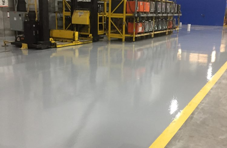 Industrial Epoxy Floors