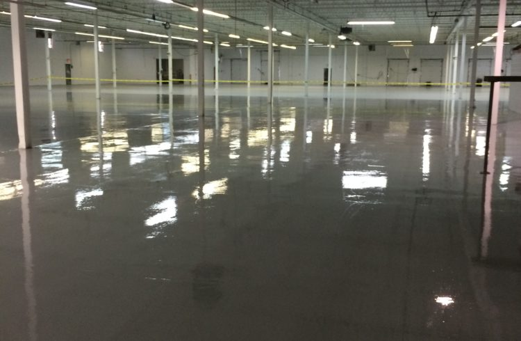 epoxy floor installations
